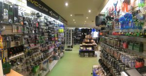 Inside tackle shop 2016