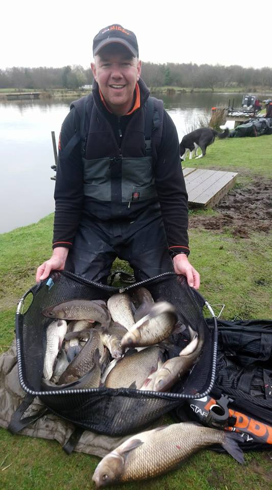 winter fishing Scotland beast from the east carp skimmers roach bream SW Scotland