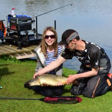 Pleasure fishing at broom fisheries
