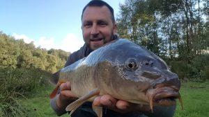 big, mirror, carp, Scotland, broom , fisheries, Dumfriesshire,