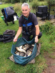 South west Scotland big fish carp match fishing Steve Ringer weekend at Broom fisheries 2018
