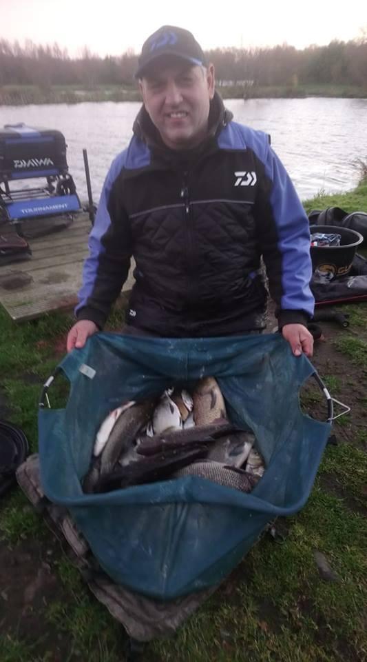 Broom fisheries winter fishing scotland big carp