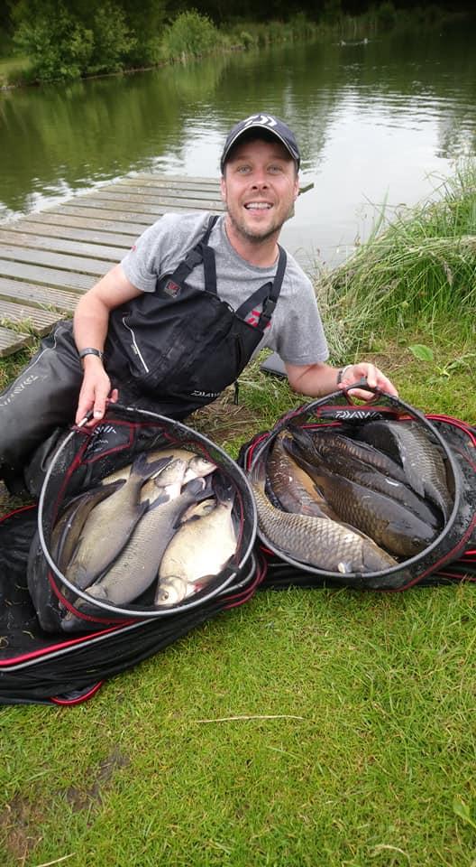 Scottish fishing broom fisheries big carp fish coarse action match ide roach rudd specimen lake